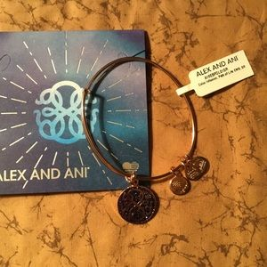 Alex And Ani Path Of Life Bangle NWT